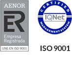 Icono certificados de calidad de Grafimetal